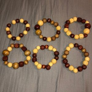 Jewelry - Hand made wooden bracelets!